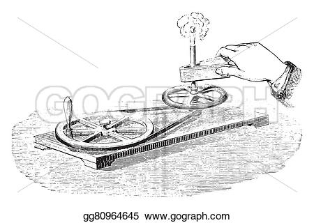 Heat clipart drawing Vintage gg80964645 friction generation 1875