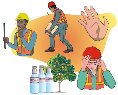 Heat clipart emergency Result that factor be stress