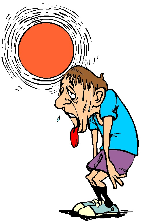 Heat clipart environmental issue Of a Conditioning sweating picture