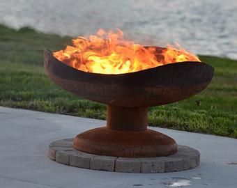 Heat clipart fire pit Backyard Steel Fire or Functional