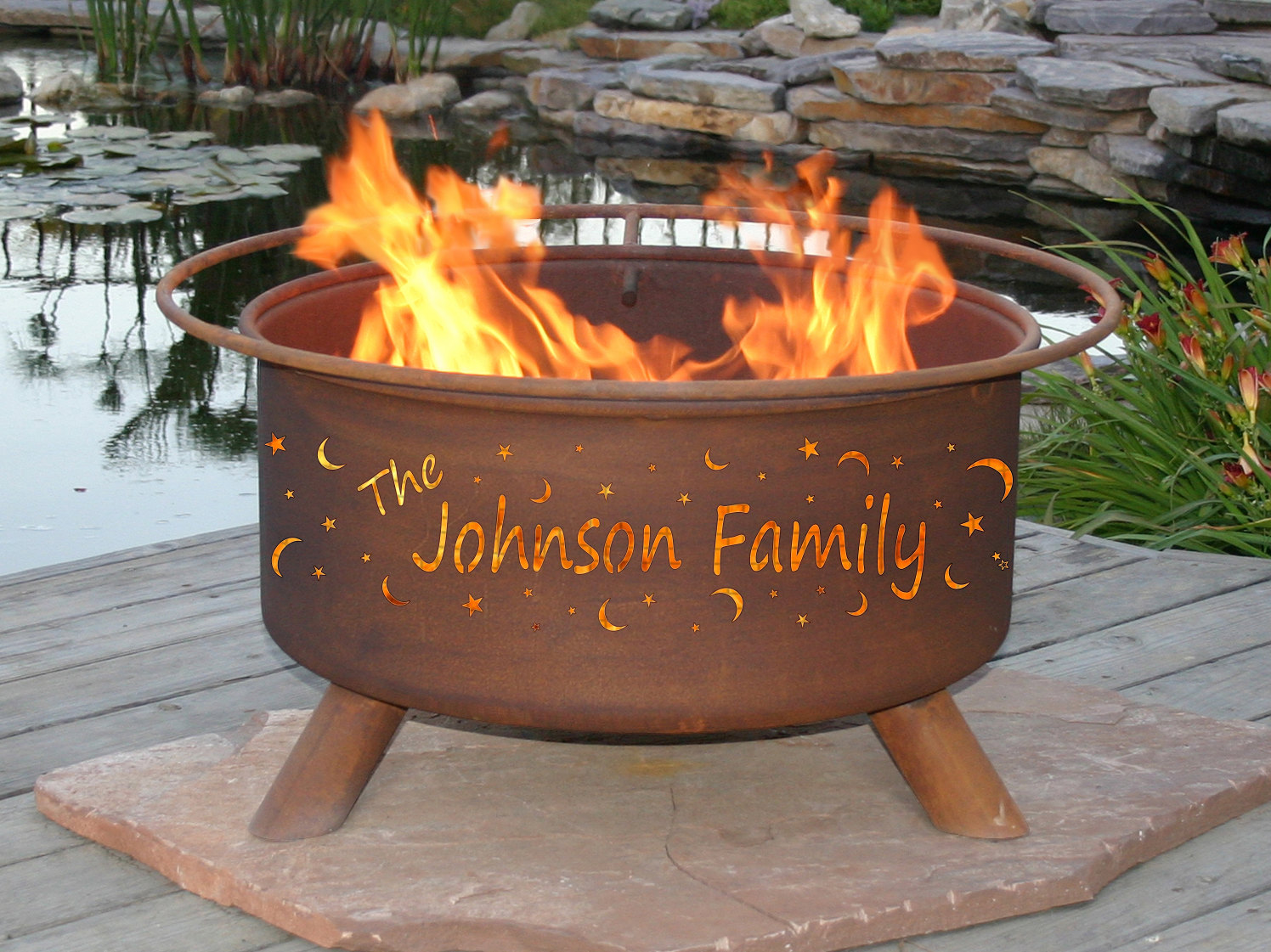 Heat clipart fire pit Outdoor Personalised Fire Wedding Wedding