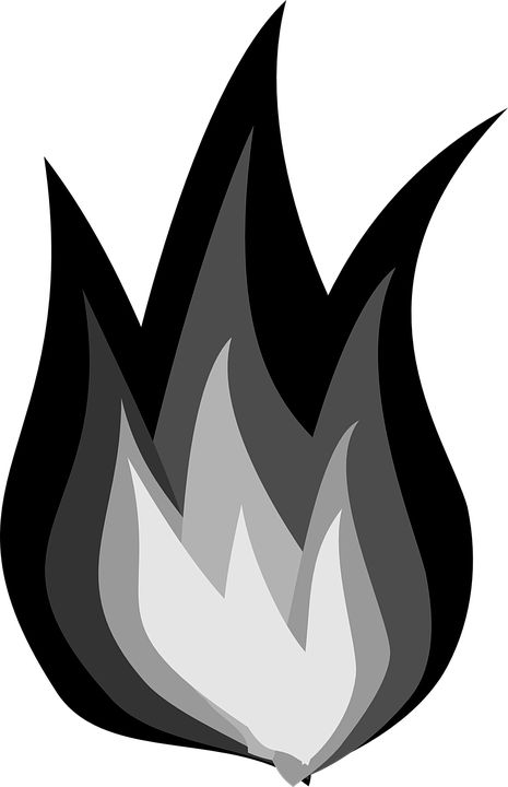Heat clipart free fire On Pixabay Gray on Image