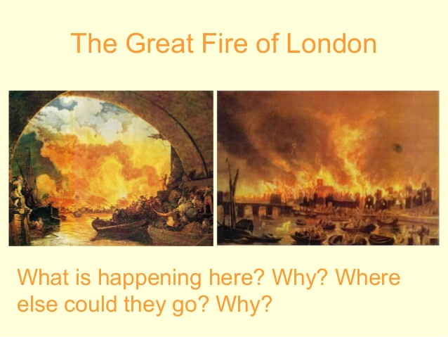 Heat clipart great fire london The Fire Great project) London