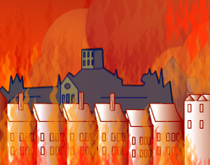 Heat clipart great fire london Burning: Great of September The