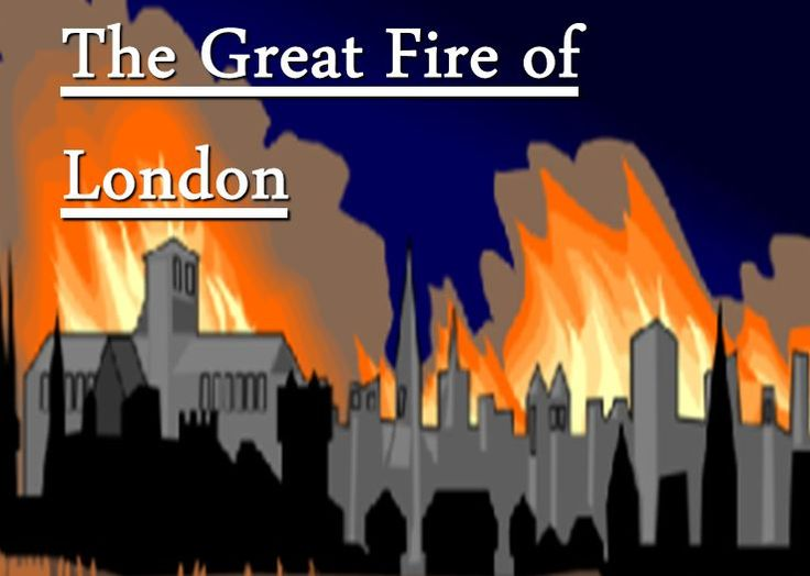 Heat clipart great fire london Interactive about PowerPoint of Best