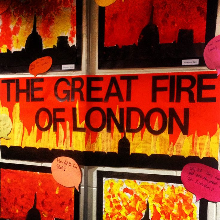 Heat clipart great fire london Fire London of Pinterest Fire