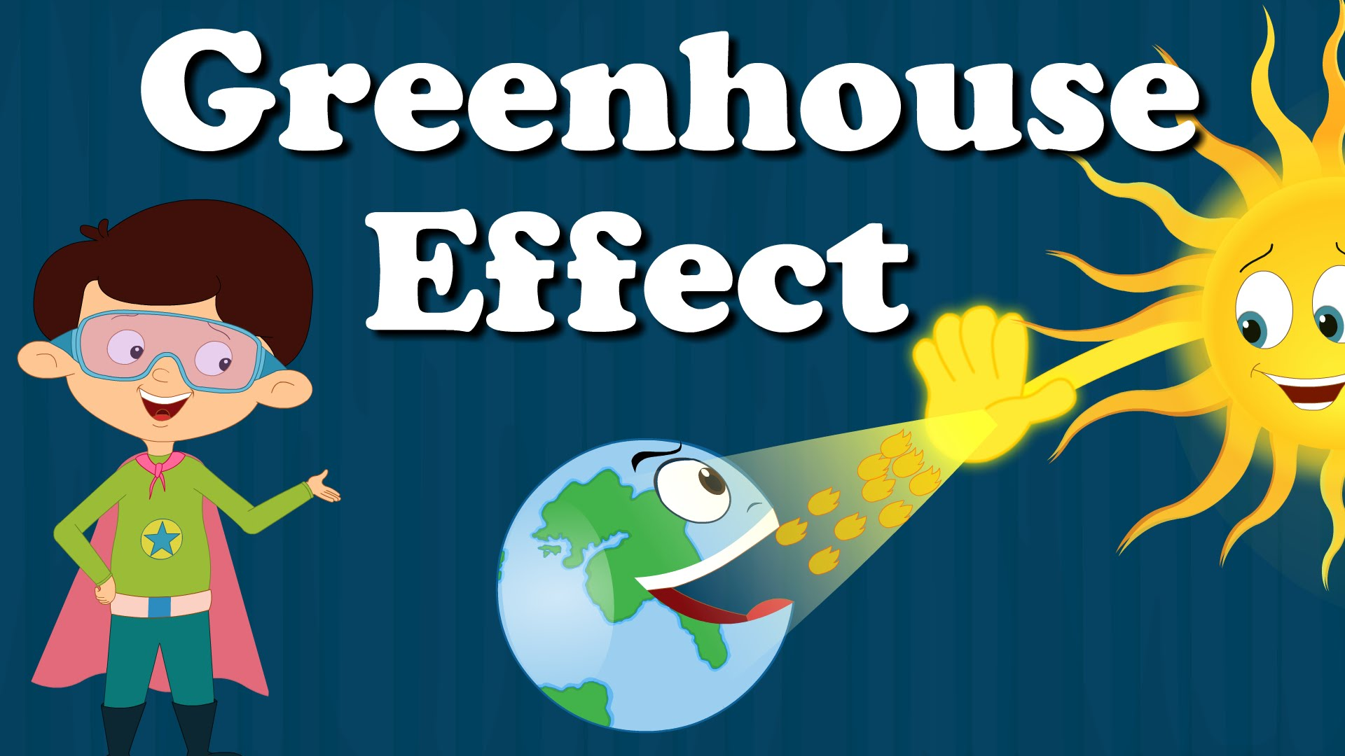 Heat clipart greenhouse gas YouTube Kids Greenhouse  for