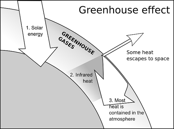 Heat clipart greenhouse gas Gases Greenhouse What Carbon