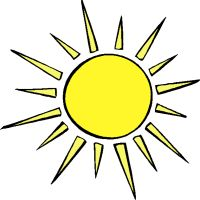 Warmth clipart light source On Unit #kids: light heat