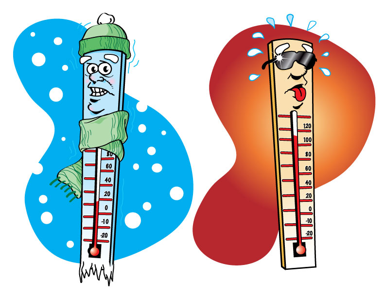 Chill clipart extreme cold YYC Hot Cold and KiSS