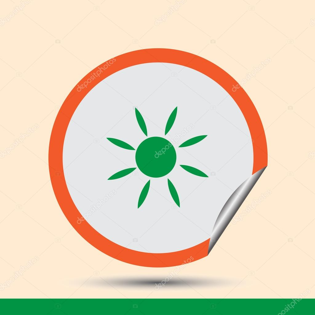 Heat clipart hot climate Glow sunshine design hot