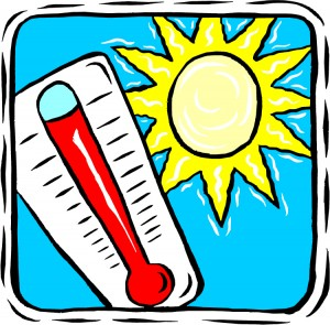 Heat clipart hot day The City's When Beat in