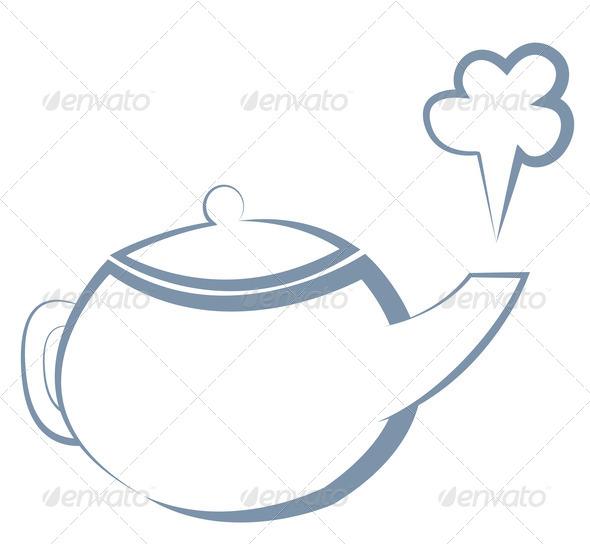 Heat clipart hot object Beverage illustration kettle boiling art