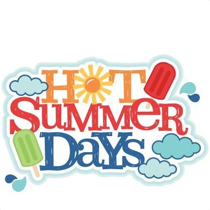 Heat clipart hot summer season Art Clip Summer  Summer