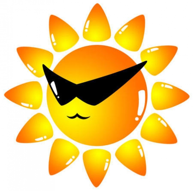 Heat clipart hot summer season Summer clip on pertaining Art