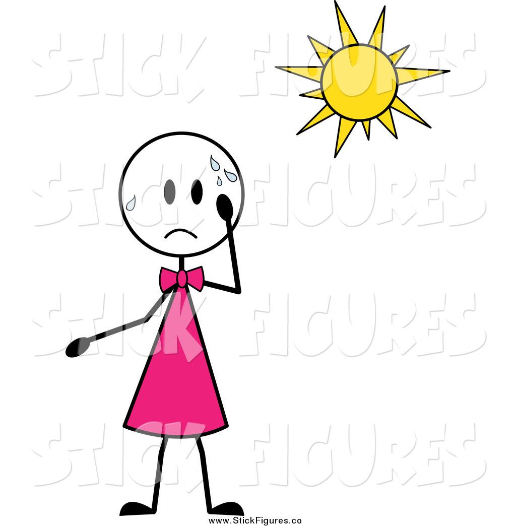 Heat clipart hot summer season — Stroke Clipart Heat Free