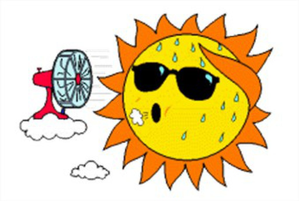 Heat clipart hot weather Weather Caution MEMA Weather Hot