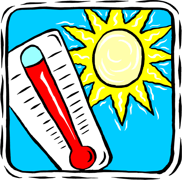 Heat clipart hot weather In With Courage The running