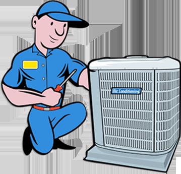 Heat clipart hvac HVAC Service Heating All Cooling