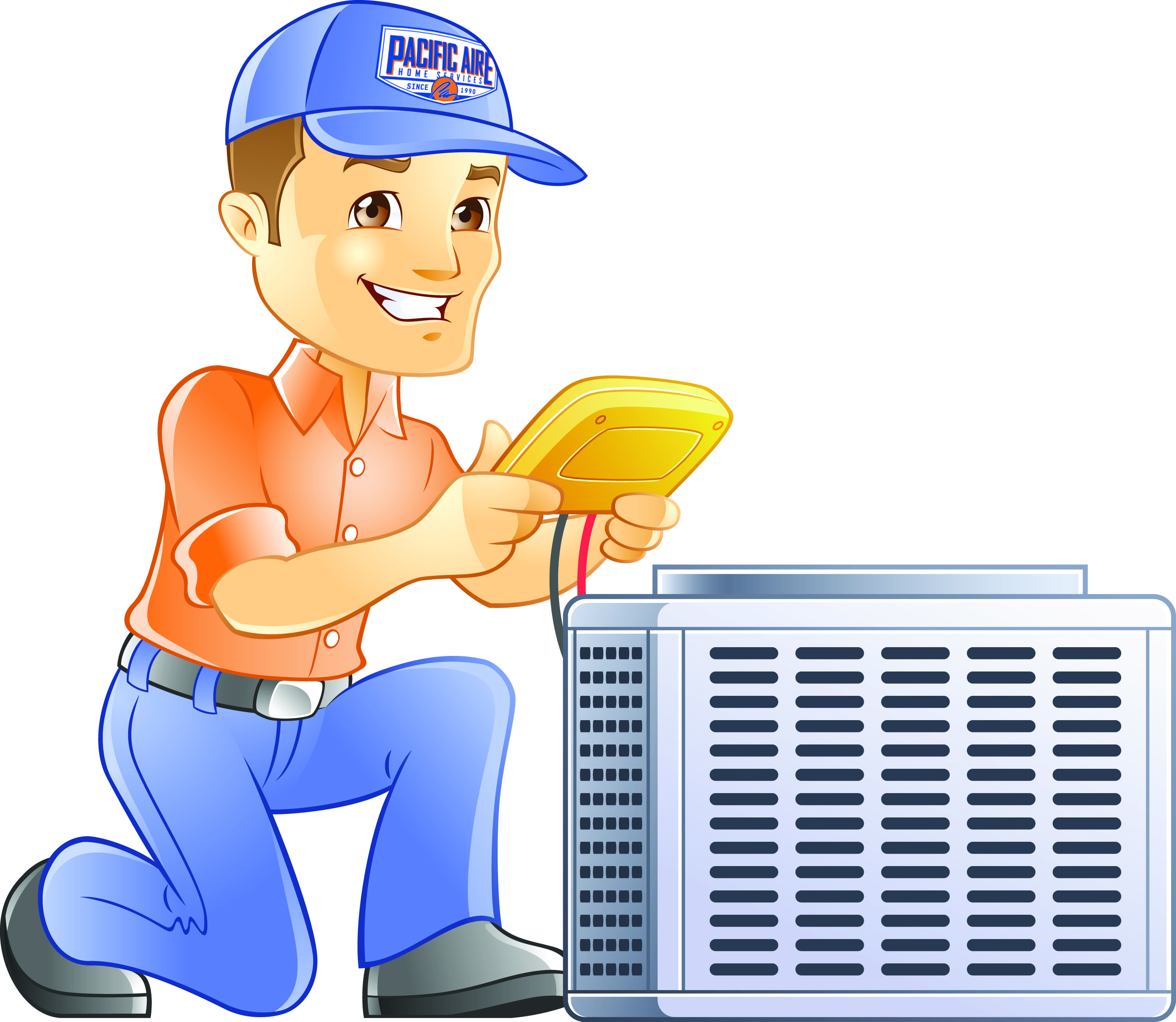 Heat clipart hvac Ac replacement and HVAC Pacific