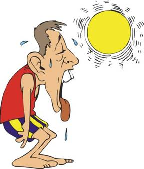 Heat clipart hydration NewsTract avoid a risks to