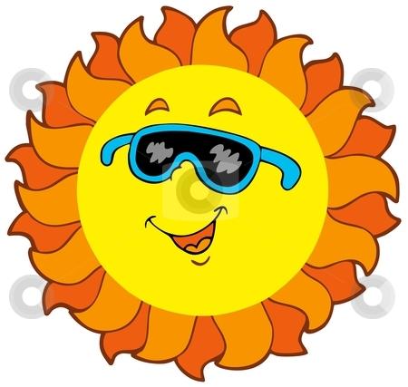 Heat clipart matahari Sun cartoon cartoon vector stock