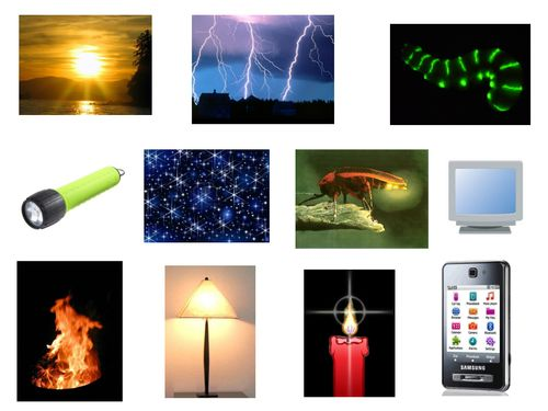 Heat clipart natural light source Science & images sources about