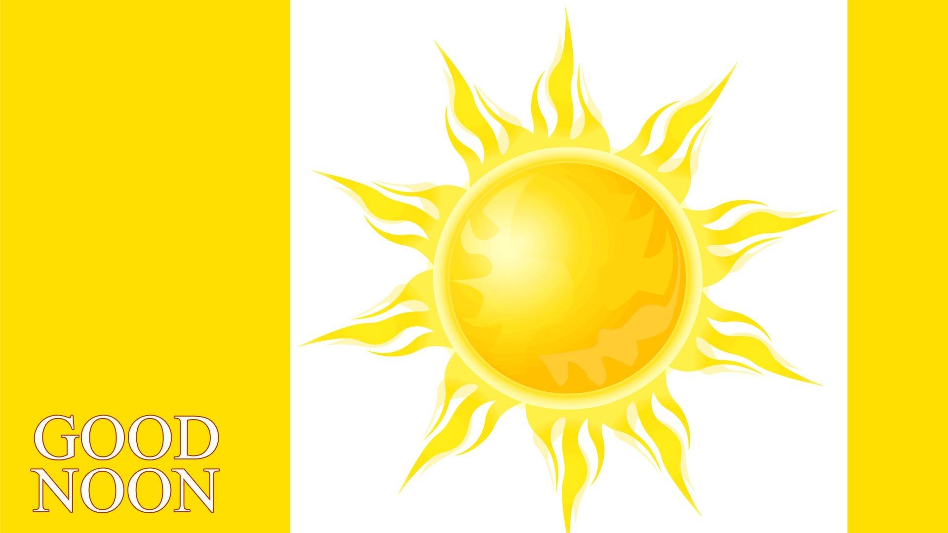 Heat clipart noon Noon Good com clipartsgram Sun