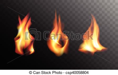 Heat clipart realistic fire flames Realistic csp40058804 Fire Background on