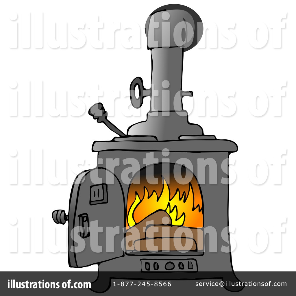 Heat clipart stove fire Free Royalty Heating #16146 Clipart