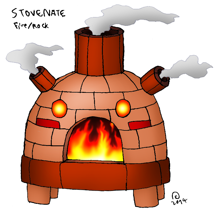 Heat clipart stove fire Day Pokémon and Region Night