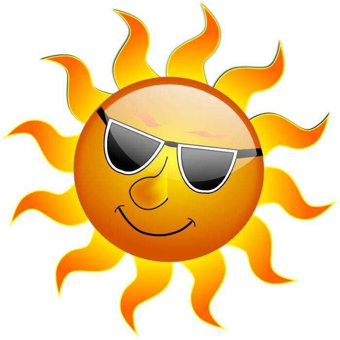 Heat clipart sun and moon Smiley about Pinterest Clip Smiley