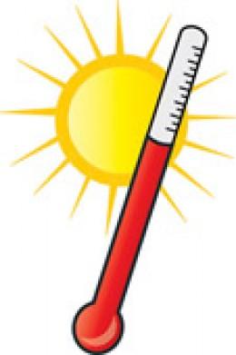 Heat clipart temperature · Weather Images Panda Clipart