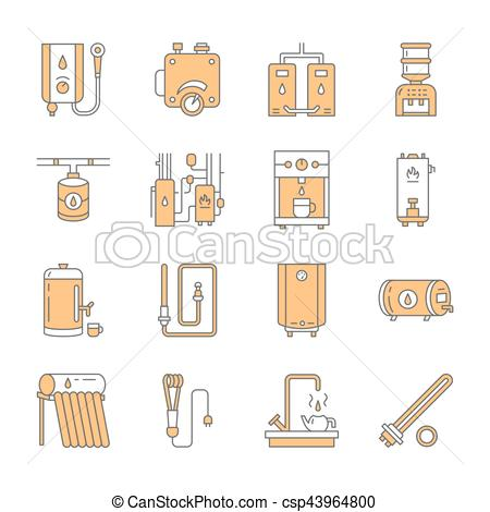 Heat clipart thermostat  of heating other electric