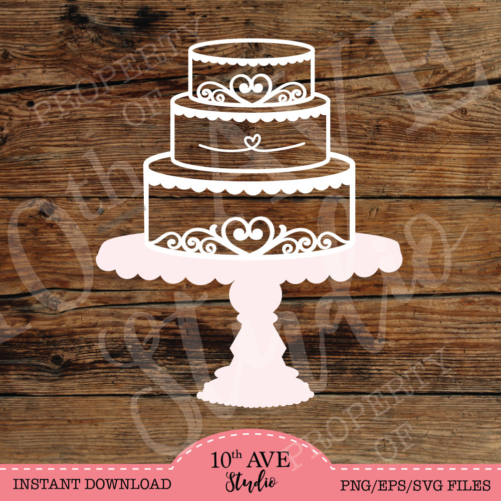 Heat clipart too Three for Cake SVG/DXF/EPS/png