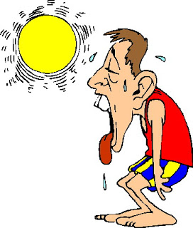 Heat clipart too Much Sweating too too TheDelsolRunner