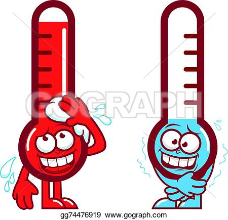Heat clipart warm temperature · Thermometer Art Temperature Royalty