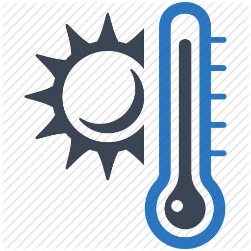 Heat clipart weather thermometer #3