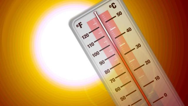 Heat clipart weather thermometer #5
