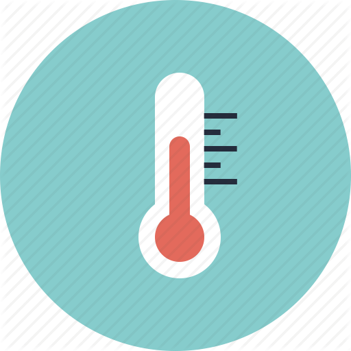 Heat clipart weather thermometer #1