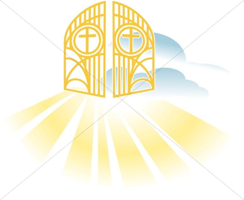 Heaven clipart 951 Stock Heaven Gate Royalty