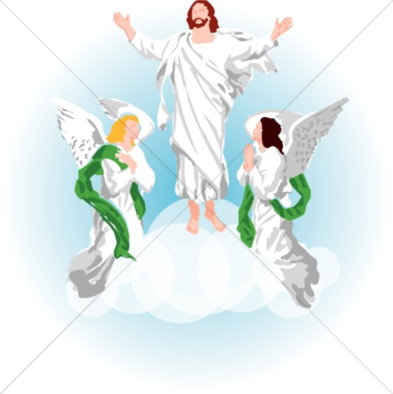 Heaven clipart ascension #7