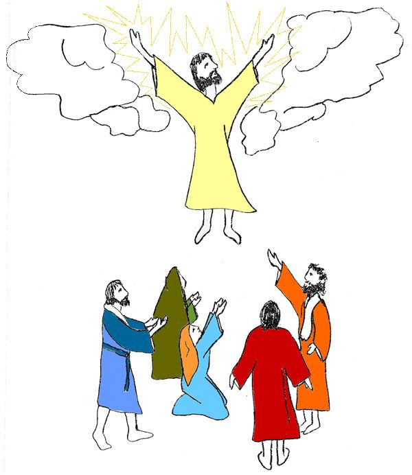 Heaven clipart ascension #11