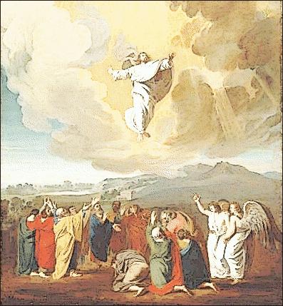Heaven clipart ascension #15