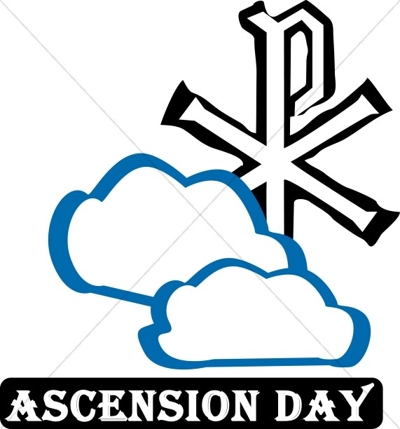Heaven clipart ascension day Clipart Word Religious Ascension Day