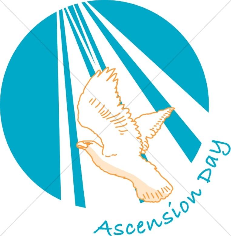 Heaven clipart ascension day Ascension Ascension Word Ascension Art