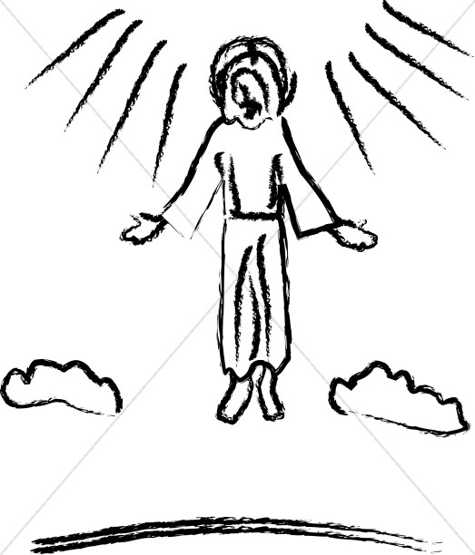 Heaven clipart ascension day Images Ascension Ascension Jesus Images