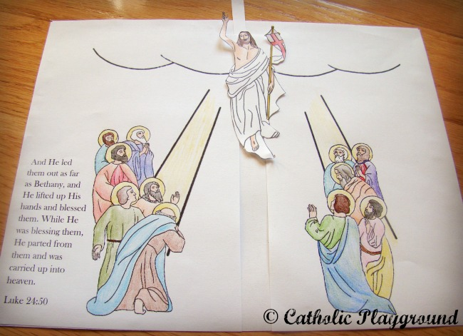 Heaven clipart ascension day Ascension ascending BBCpersian7 17 heaven