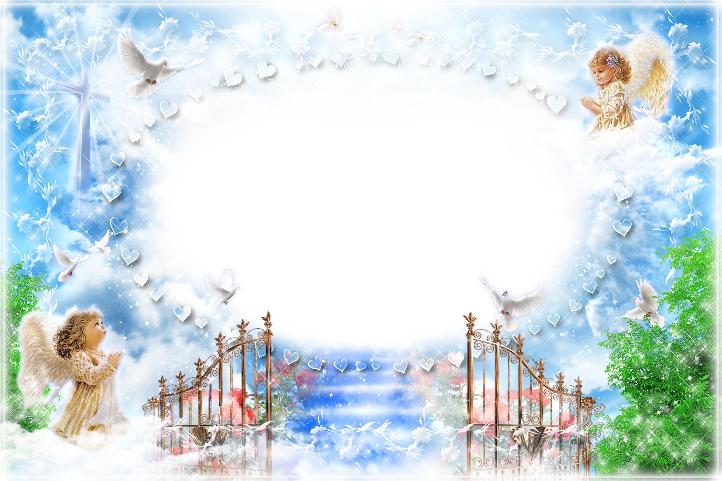 Heaven clipart background image Size Heaven Transparent  Gallery
