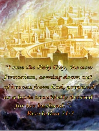 Heaven clipart bible 166 John holy Revelation saw